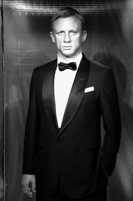 Daniel Craig en smoking.