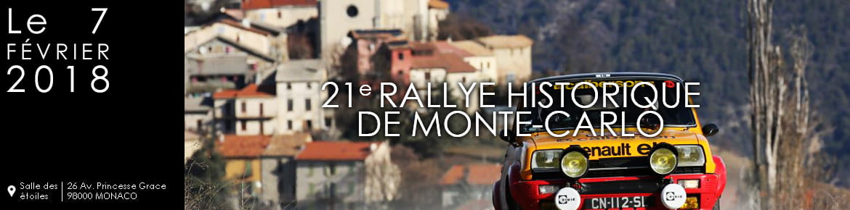 Voiture de rallye à Monaco