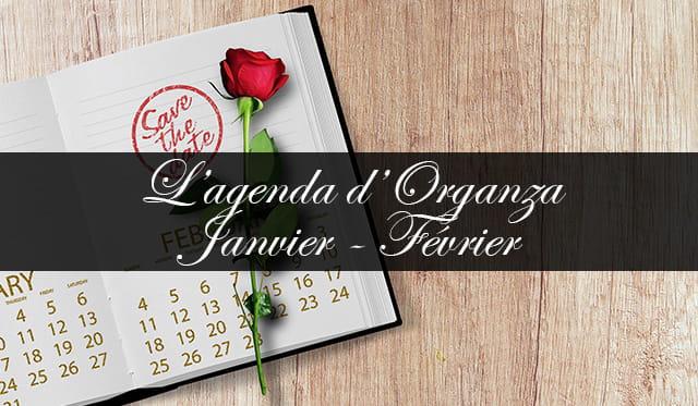 L'Agenda des galas de Monaco avec Organza – Janvier/Février 2018