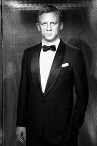 Daniel Craig en smoking.