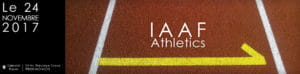 Piste d'athlétisme.