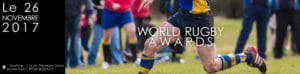 Rugbymen sur le terrain.