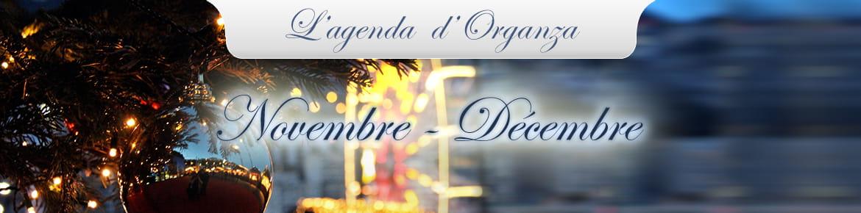 Vue sur le port Hercule de Monaco à Noël.