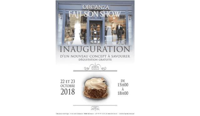 Affiche de l'événement Organza fait son show.
